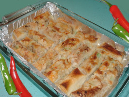Chicken Egg Roll Enchiladas. Photo by Bergy