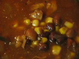 Southwestern Chicken and Bean Soup (Crock Pot). Photo by Vino Girl
