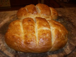 Rustic Italian Bread ABM. Photo by Evster