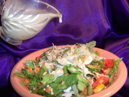 Tahini Goddess Salad Dressing. Photo by Sharon123