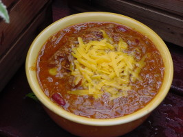 Beef Chili With Ancho, Red Beans and Chocolate. Photo by ~In*Memory*of*Brats~