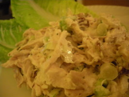 Deluxe Chicken or Turkey Salad (julia Child). Photo by Yia Yia