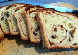 World's Best Cinnamon Raisin Bread (Not Bread Machine). Photo by JoKopelli
