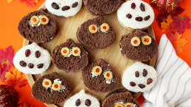 Halloween appetizers fingers