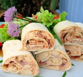 Southwestern Chicken & Bacon Roll-Ups