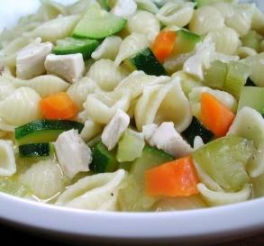 Chicken & Zucchini Soup
