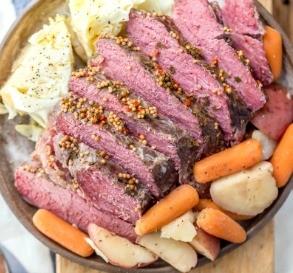 Slow-Cooker Corned Beef Dinner