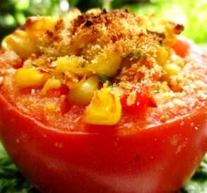 Corn-Stuffed Tomatoes