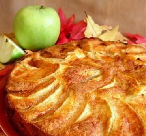 Low-Fat Apple Cake