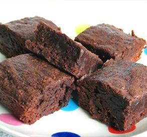 Low-Fat Fudge Brownies