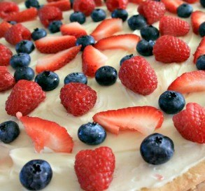 Star Spangled Fruit Tart