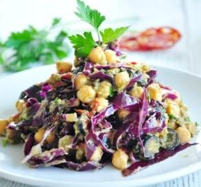 Chickpea, Avocado & Sundried Tomato Salad