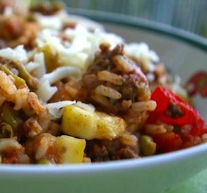 Mexi Ground Beef-Rice