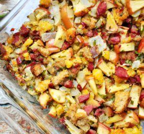 Cornbread, Sausage, Apple & Pecan Stuffing