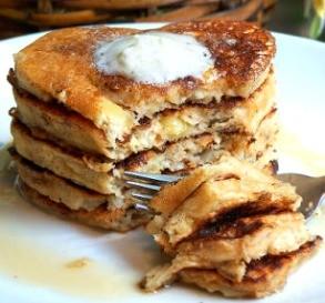 Apple & Pecan Pancakes