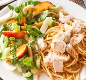 Asian Chicken & Pasta Salad
