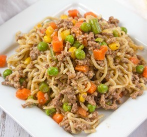 Hamburger Skillet Supper