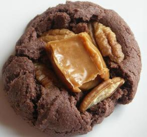 Caramel Brownie Cookies
