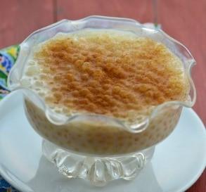 Old-Fashioned Tapioca Pudding