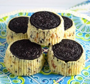 Cookies 'n' Cream Cheesecake Cupcakes