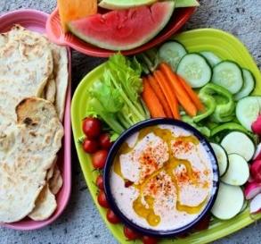 Middle Eastern Dip Platter