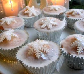 Christmas Fairy Cupcakes