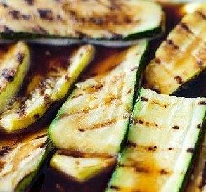 June 29:  Grilled & Marinated Summer Squash