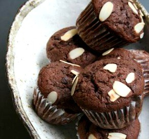 Chocolate Muffins with Rum