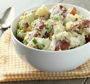 Red Hot & Blue Potato Salad