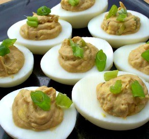Extra Deviled Deviled Eggs