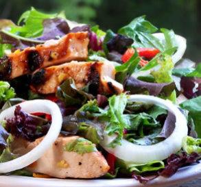 Ginger Marmalade Chicken Salad