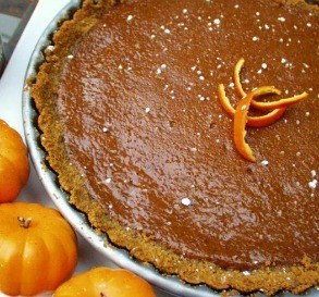 Pumpkin-Grand Marnier Tart