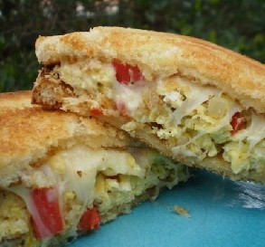Scrambled Egg Sandwiches