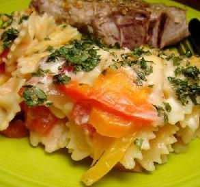 Oct 1:  Vegetable Pasta Bake