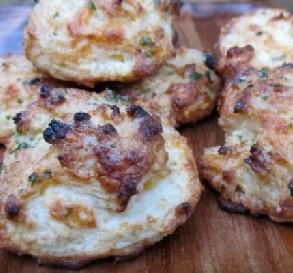 Oct 5 Cheddar Garlic Biscuits