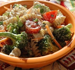 June 28: Broccoli Pasta Salad