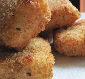 Deep-Fried Cheese Squares