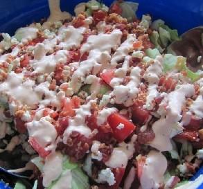 Chopped Iceberg Wedge Salad