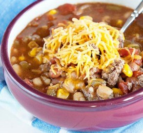 Slow-Cooker Taco Soup