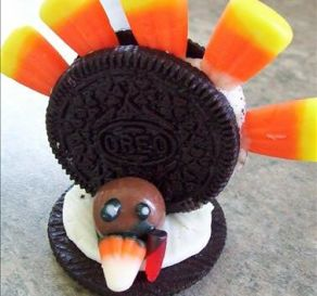Nov 19:  Oreo Turkeys
