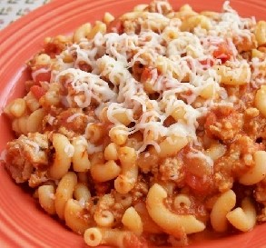 Easy Beef Pasta