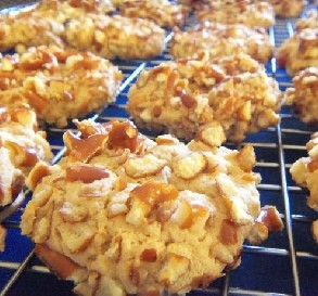 Jan. 19:  Peanut Butter-Pretzel Cookies