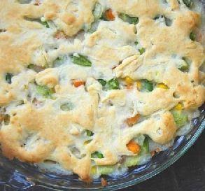 Jan. 22:  Easy Bisquick Chicken Pot Pie