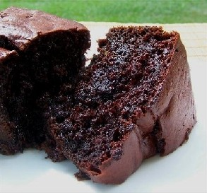 Dark Triple Chocolate Cake