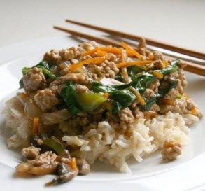 Apr. 25: Sweet & Spicy Ground Turkey Stir-Fry