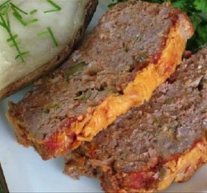 Mar. 6:  Bri's Cheddar Meatloaf