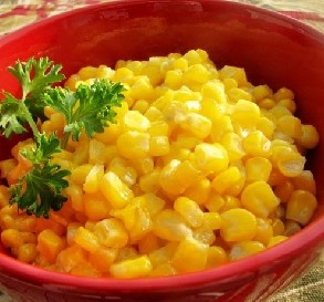 May 14:  Copycat Green Giant Corn in Butter Sauce