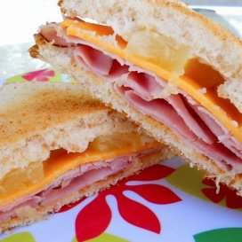 June 14:  Hawaiian Ham & Cheese