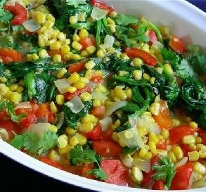June 9:  Spicy Corn Ragout