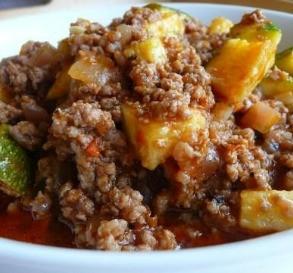 Zucchini & Ground Beef Casserole